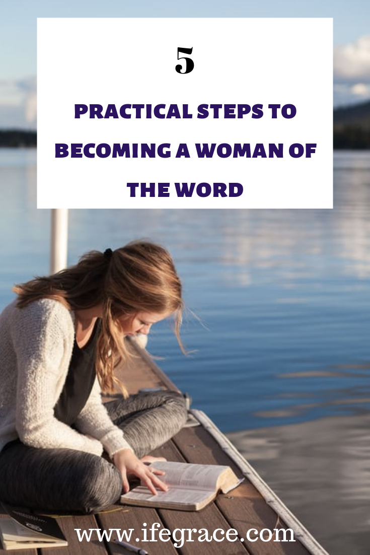 Becoming a woman of the word, Christian living, godly women