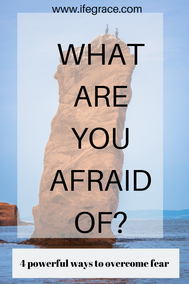 Overcoming the spirit of fear. Powerful ways to walk through life courageously.