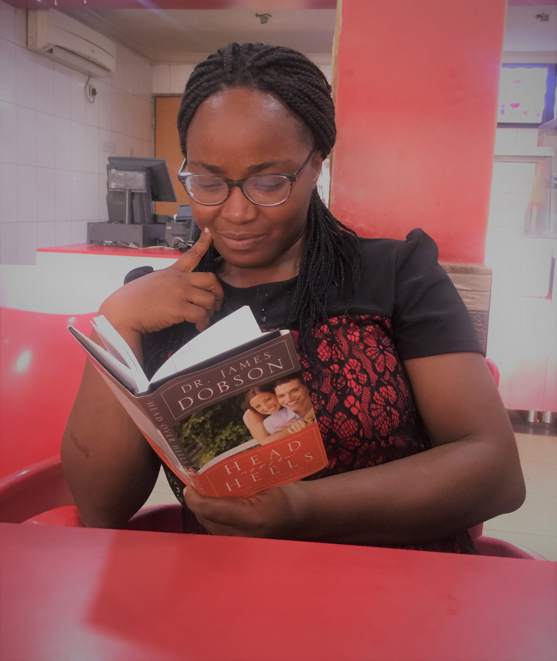 I MUST GET TO THE TOP- A GLASS OF IFE GRACE